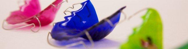 Ортодонтическая съемная пластинка для зубов